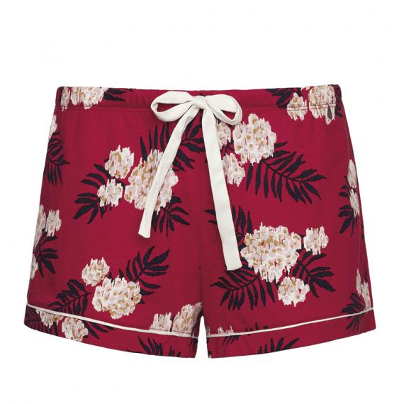 Cyell Sleepwear Fleur Rouge Pyjamashort Annadiva
