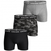 Bjorn Borg Shadeline 3-Pack Boxershorts Total Eclipse