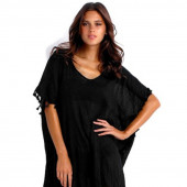 Seafolly Amnesia Kaftan Black