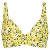 Annadiva Swim Lemonade Plunge Bikinitop Citron