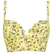 Annadiva Swim Lemonade Longline Bikinitop Citron