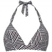 Cyell Art Deco Triangle Bikinitop Print