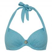 Cyell Azure Sky Halter Bikinitop