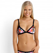 Seafolly Beach Gypsy Scuba Triangle Bikinitop Nectarine
