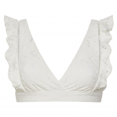Beachlife Blanc De Blanc Bralette Bikinitop