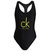 Calvin Klein Badpak Met Logo Black