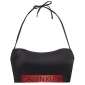 Calvin Klein Core Icon Bandeau Bikinitop Black