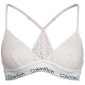 Calvin Klein Kanten Triangle BH Lichtroze