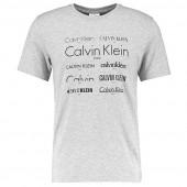 Calvin Klein Logo Shirt Grijs