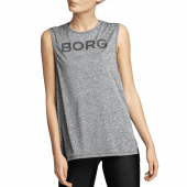 Björn Borg Cat Sporttop Anthracite Grey Melange
