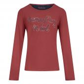 Charlie Choe Namaste Pyjamashirt Met Lange Mouwen Faded Red