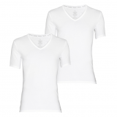 Calvin Klein CK One Cotton 2-Pak V-Hals Shirts Heren