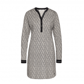 Cyell Sleepwear Code Chique Nachthemd Met Lange Mouwen