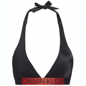 Calvin Klein Core Icon Triangle Bikinitop Black