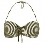 Beachlife Cypress Stripe Bandeau Bikinitop