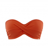 Panache Swim Echo Bandeau Bikinitop Orange