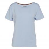 Essenza Ellen Uni Pyjamashirt Ice Blue