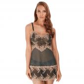 Wacoal Embrace Lace Nachtjurkje Ebony Shifting Sand
