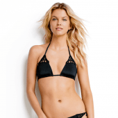 Seafolly Flower Festival Triangel Bikinitop Black