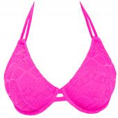 Freya Swim Sundance Halter Bikinitop Hot Pink