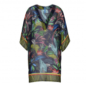 Cyell Hamptons Tuniek Blauw Tropical