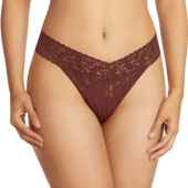 Hanky Panky Original Rise String Brown