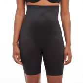 Spanx Thinstincts 2.0 High Waisted Mid Thigh Short Very Black