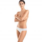 Hanro Invisible Cotton Brazilian Slip White