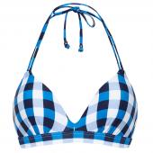 Beachlife Italian Picnic Padded Triangle Bikinitop