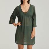PrimaDonna Swim Holiday Kaftan Dark Olive