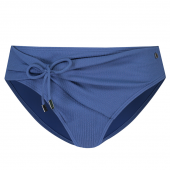 Beachlife Knitted Blue Hoog Bikinibroekje
