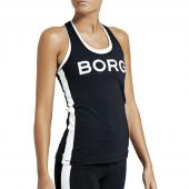 Björn Borg L.A. Stripe Sporttop Black/White