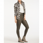 Spanx Look At Me Now Moto Corrigerende Legging Gunmetal