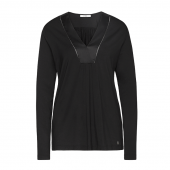 Cyell Sleepwear Luxury Essentials Pyjamashirt Black