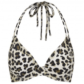 Miss Mandalay Vegas Halter Bikinitop Leopard