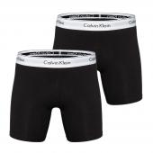 Calvin Klein Modern Cotton 2-Pak Boxershorts Heren Zwart