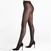 Wolford Night Sparkle Panty Black/Silver