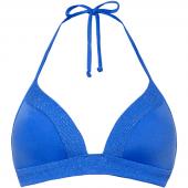 Cyell Ocean Blue Triangle Bikinitop Blue