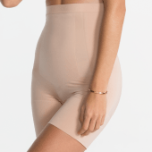 Spanx Oncore High Waisted Mid Thigh Short Nude