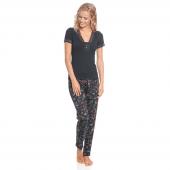 Vive Maria Papillon Pyjamaset Black Allover