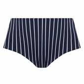 Elomi Swim Plain Sailing Hoog Bikinibroekje Midnight Stripe