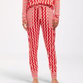 Cyell Sleepwear Zigzag Lange Pyjamabroek Fire