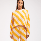 Cyell Sleepwear Fluffy Pyjamashirt Yellow