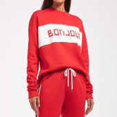 Cyell Sleepwear Bonjour Pyjamashirt Fire
