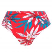 Fantasie Swim Santos Beach Hoog Bikinibroekje Pomegranate
