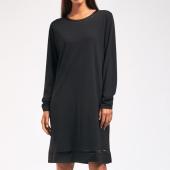 Cyell Sleepwear Solid Nachthemd Black