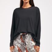 Cyell Sleepwear Solid Pyjamashirt Black