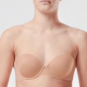 Spanx Up For Anything Strapless BH Champagne Beige
