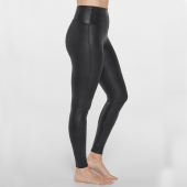 Spanx Faux Leather Pebbled Legging Pebble Grey