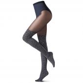 Oroblu Style Panty 70/30 Denier Grey Leopard
